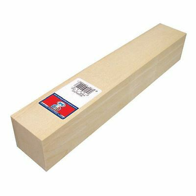 Basswood Carving Block 2 x 2 x 12 Inches Wood Painting Craft Models Cut