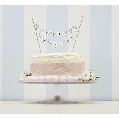 Commodity Ginger Ray Just Married Cake Bunting Wedding Topper Flags Decoration