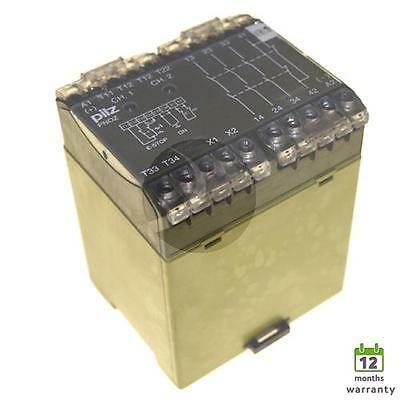 PILZ PNOZ/24VDC/3s 474695 safety relay with 12 month warranty