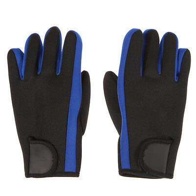 One Pair 2mm Neoprene Scuba Diving Surfing Snorkeling Spear Fishing Water Gloves