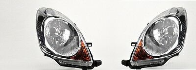 Nissan Note 2006-2009 Headlight Headlamp 1 X Pair Right And Left O/s N/s