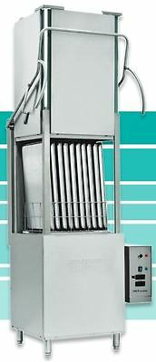 """Jet-Tech 747HH High-Hood Door-Lift Commercial Pan and Dishwasher (26""""H Opening)"""