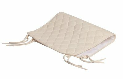 American Baby Company Organic Cotton Quilted Sheet Saver, Natural 82950A