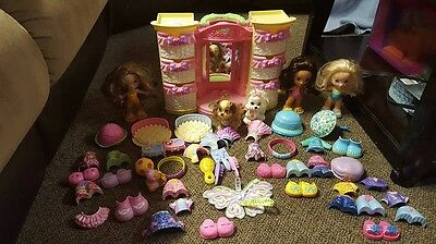Fisher Price Snap N Style Dolls Lot