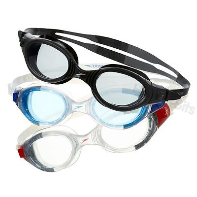 Speedo Futura BioFuse Adult UV Anti-Fog Swimming Goggles with Storage Pouch