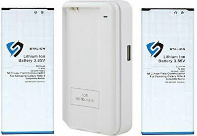 Stalion® Strength 3220mAh Replacement Battery+Charger for Samsung Galaxy Note 4