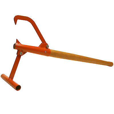 "Timberjack Log Lifter Cant Hook - 44"" overall length. Up to 12"" log"