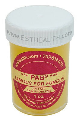 PAB 1oz ORGANIC salve, first aid, natural fungus fighter, antibiotic ointment
