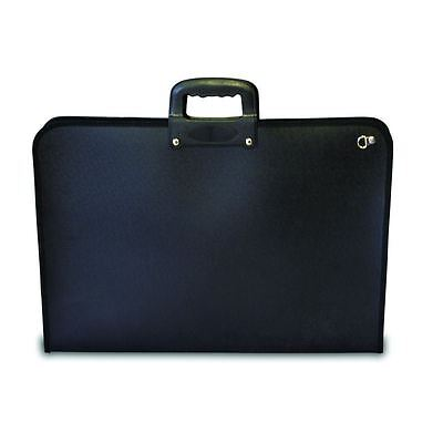 Mapac Academy Art Carry Case A3 Folder Storage Lightweight Water-Resistant Black
