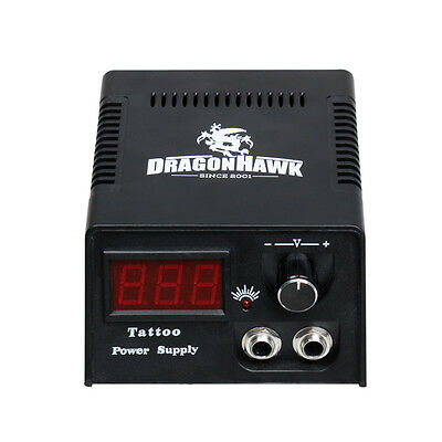 Complete Tattoo Kit 2 Machines Guns color Ink Power supply needles 10-24GD-13