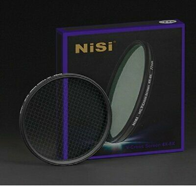67mm NiSi Ultra thin MC Variable 4&8 Point Star burst Twinkle Effect Lens Filter