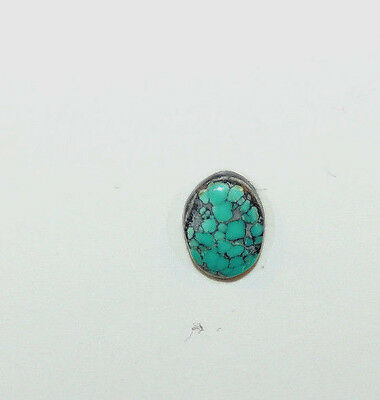 Persian Turquoise Cabochon 10x8mm with 3mm dome  (9775)
