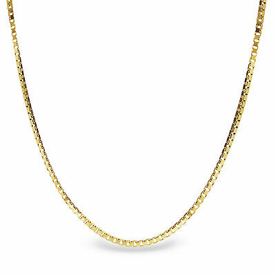 Box Chain 14k Gold Necklace - 20 in. - SKU #63551