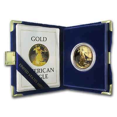 1 oz Proof Gold American Eagle (Random Year, w/Box & COA) - SKU #59248