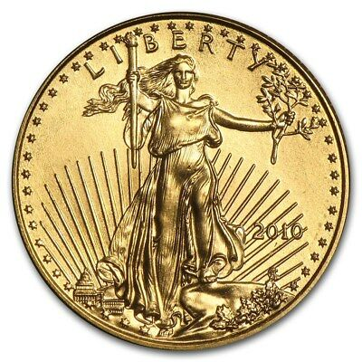 2010 1/10 oz Gold American Eagle BU - SKU #58141