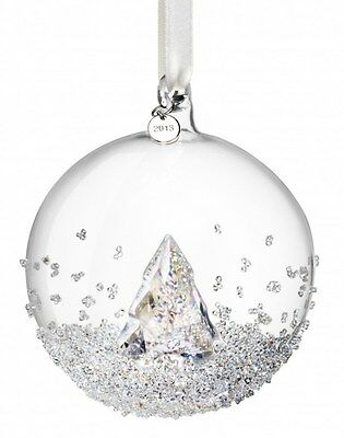 SWAROVSKI CHRISTMAS BALL ORNAMENT ANNUAL EDITION 2013 & 2014 & 2015  set NEW !
