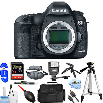 Canon EOS 5D Mark III DSLR Camera (Body Only)!! PRO BUNDLE BRAND NEW!!