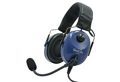 SkyLite SL-800 Pilot Aviation GA Headset with Gel and Free Bag
