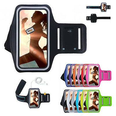 Sports Running Jogging Gym Armband Arm Band Case Cover Holder For iPhone X 6 7 8