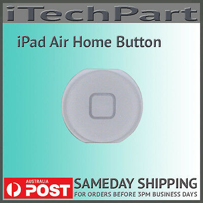 White Home Button Replacement For iPad Air