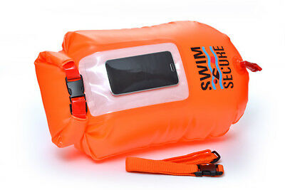 Chillswim Dry Bag with Window Pocket  - Safer Open Water Swimming High Viz *NEW*