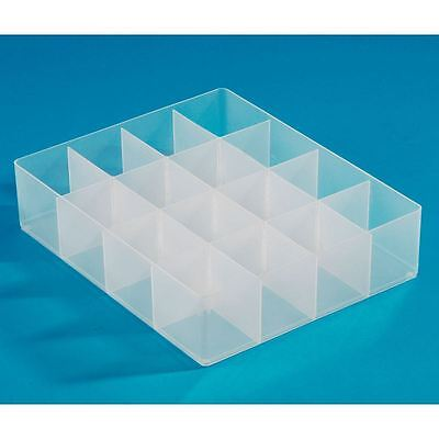 Really Useful Products Large Compartment Tray Container Organiser Holder Box