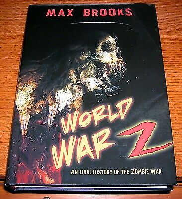 Max Brooks World War Z Signed Limited Edition Zombie Novel Op