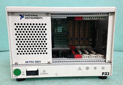 NI National Instruments; PXI-1031 Chassis; Model: 196848A-01