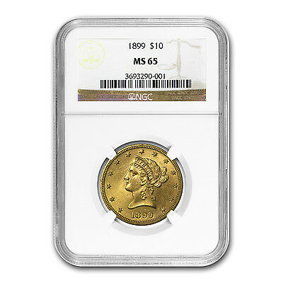 $10 Liberty Gold Eagle MS-65 NGC (Random) - SKU #88592