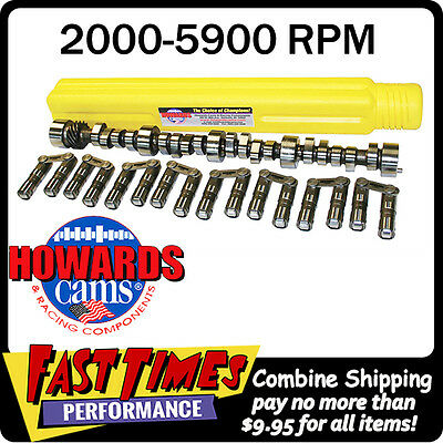 """HOWARD'S SBC Chevy Big Mama Rattler Roller 288/296 530""""/530 Cam Camshaft Lifters"""
