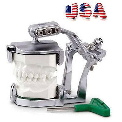 2017 New USA Adjustable Magnetic Articulator Dental Lab Equipment Supply Tools