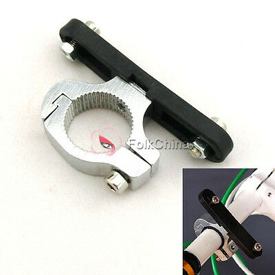 Cycling Bike Bicycle Water Bottle Cage Holder Clamp Clip Handlebar Bracket Mount