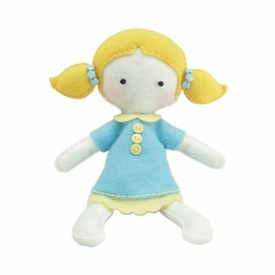 Make Your Own Felt Doll Kit Emily Sewing Crafts Toy Activity Making Pattern