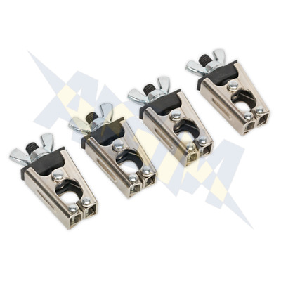 Sealey AK6804 Micro / Mini Welding Clamp Set 4 piece Securing Clamps Grips