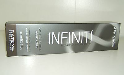 Affinage Infiniti Gothic Grey Series Permanent Hair Colour 9.117 Silver