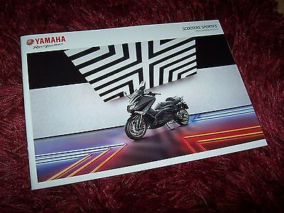 Catalogue /  Brochure YAMAHA TMAX & XMAX 2015 //
