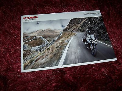 Catalogue /  Brochure YAMAHA XT1200 / XT660 / WR125 2015 //