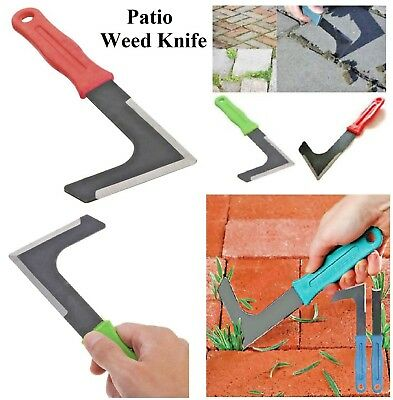 Garden Patio Weed Knife Weeding Tool Moss Remover Weeder Slab Groove Paving