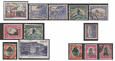 (OE-53) 1926-80 South Africa mix of 40 stamps &M/S x6
