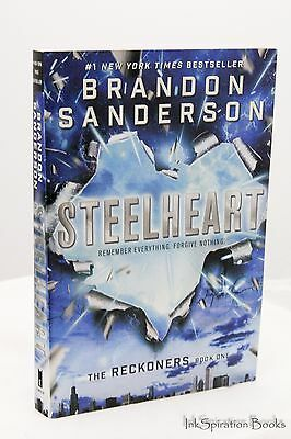 NEW Steelheart by Brandon Sanderson Paperback The Reckoners Series Book 1 One PB