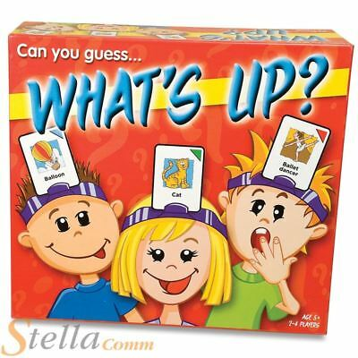 Paul Lamond What's Up? Picture Guessing Naming Childrens Kids Board Game