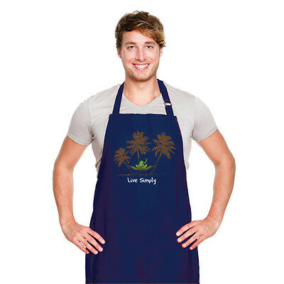 New Peace Frogs Live Simply Apron