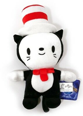 "Dr. Suess Cat in the Hat Cute Baby Plush 10"" Stuffed Animal Universal Studios"