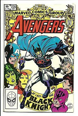 Avengers # 225 (Black Knight App. Nov 1982), Vf/nm