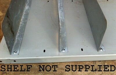 Used Bosal Steel Shelf Divider - £1.00 Each + Vat (Shelving / Pallet Racking )