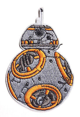 """Star Wars BB-8 Droid  3.5"""" Die Cut Patch- Mailed from USA (SWPA-FA-02)"""
