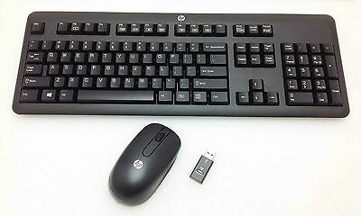 HP 2.4Ghz Wireless Keyboard and Mouse Combo - KKBRF57711 (672648-003)
