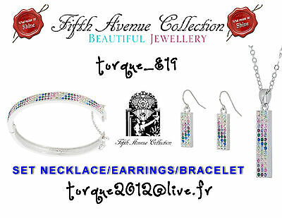 FREE GIFT PERFECT AUTHENTIC ORIGINAL 5th ave WONDERLAND SET MULTI COLOR 30 % off
