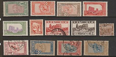 (OF-21) 1868-1930 Tunisia mix of 36 stamps