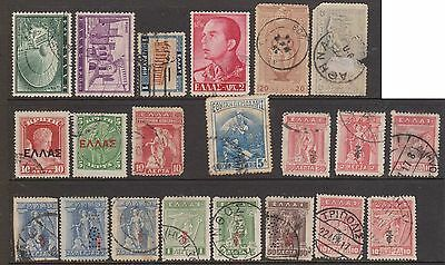 (OF-5) 1971 Greece mix of 50 stamps (B)